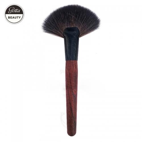 Fan Shape Loose Powder Brush