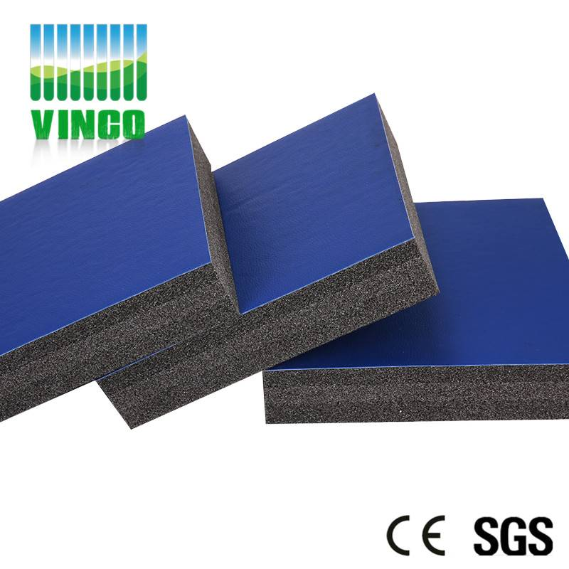40mm rubber foam shock absorption roll material