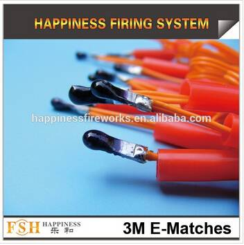 3 M electric ematches, fireworks electric igniters, E-match, fireworks ignition system