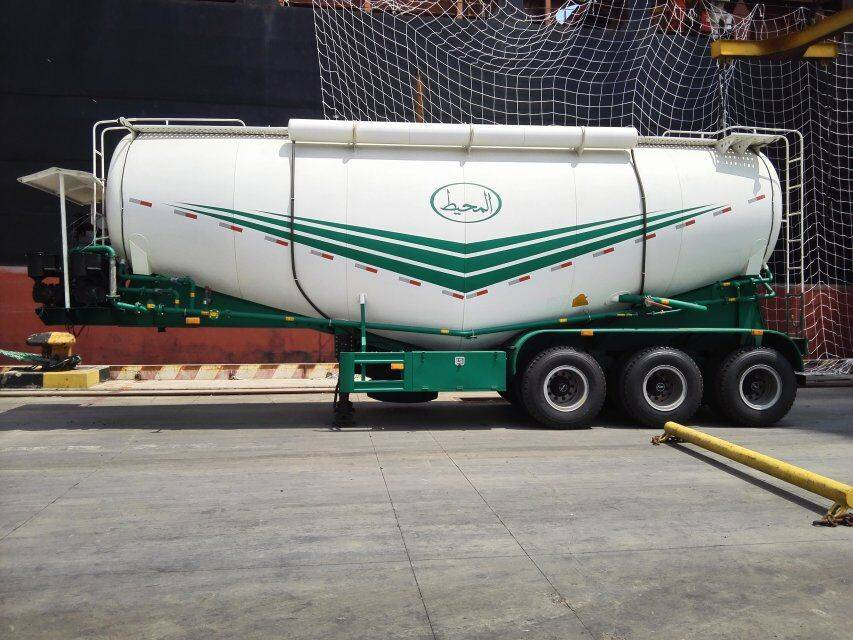 China supplier bulk cement tank semi trailer