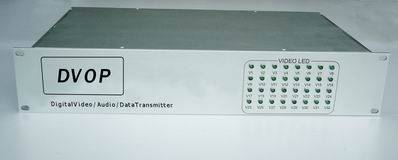 32 Chs Digital Video / Audio / Data Optic Transmitter And Receiver