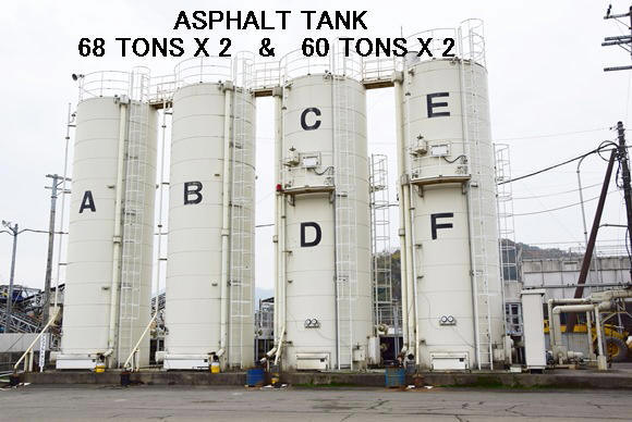 "USED ""NIKKO"" ASPHALT TANK CAPACITY OF 68 TONS X 2 SETS & 60 TONS X 2 SETS"