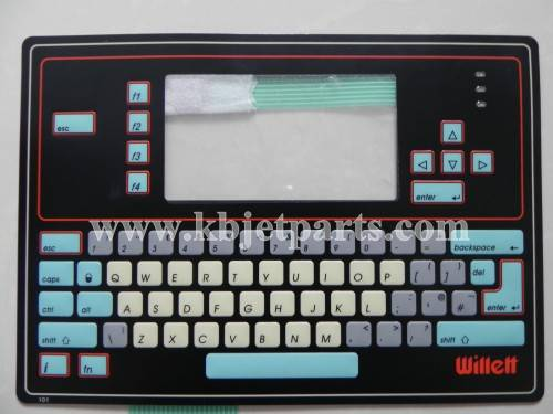 Willett 430/43s Printer Keyboard