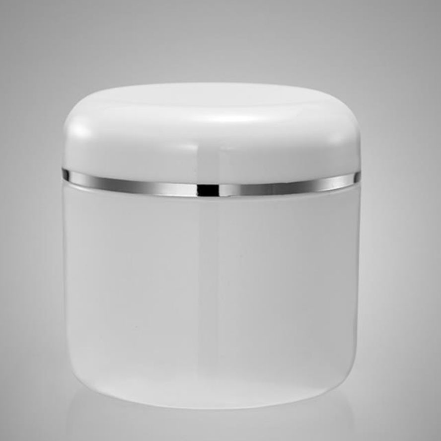 200g 300g 500g Round Shape Single Wall PP Cream Jar