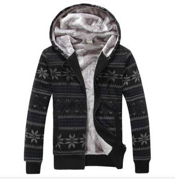 Men thickening warm long-sleeved couples coat ,fashion casual hoodies Men