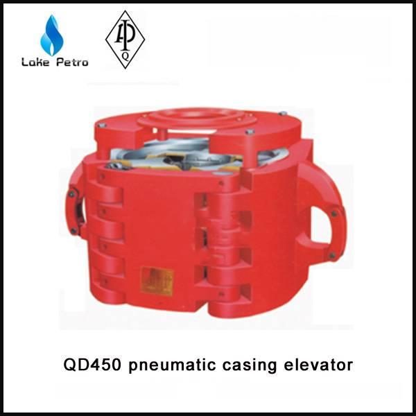 High quality API QD450 pneumatic casing elevator in oilfield