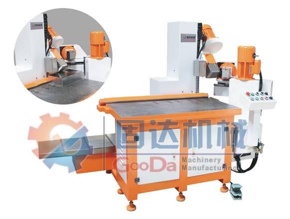Mold Base NC pneumatic clamping Three Cutter chamfering machine