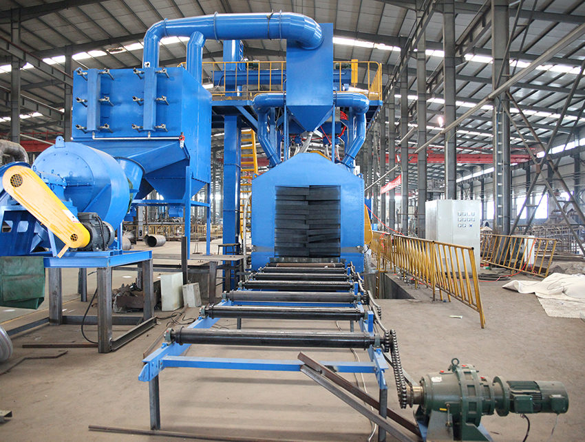 Steel Pipe Inner Wall Special Shot Blasting Machine