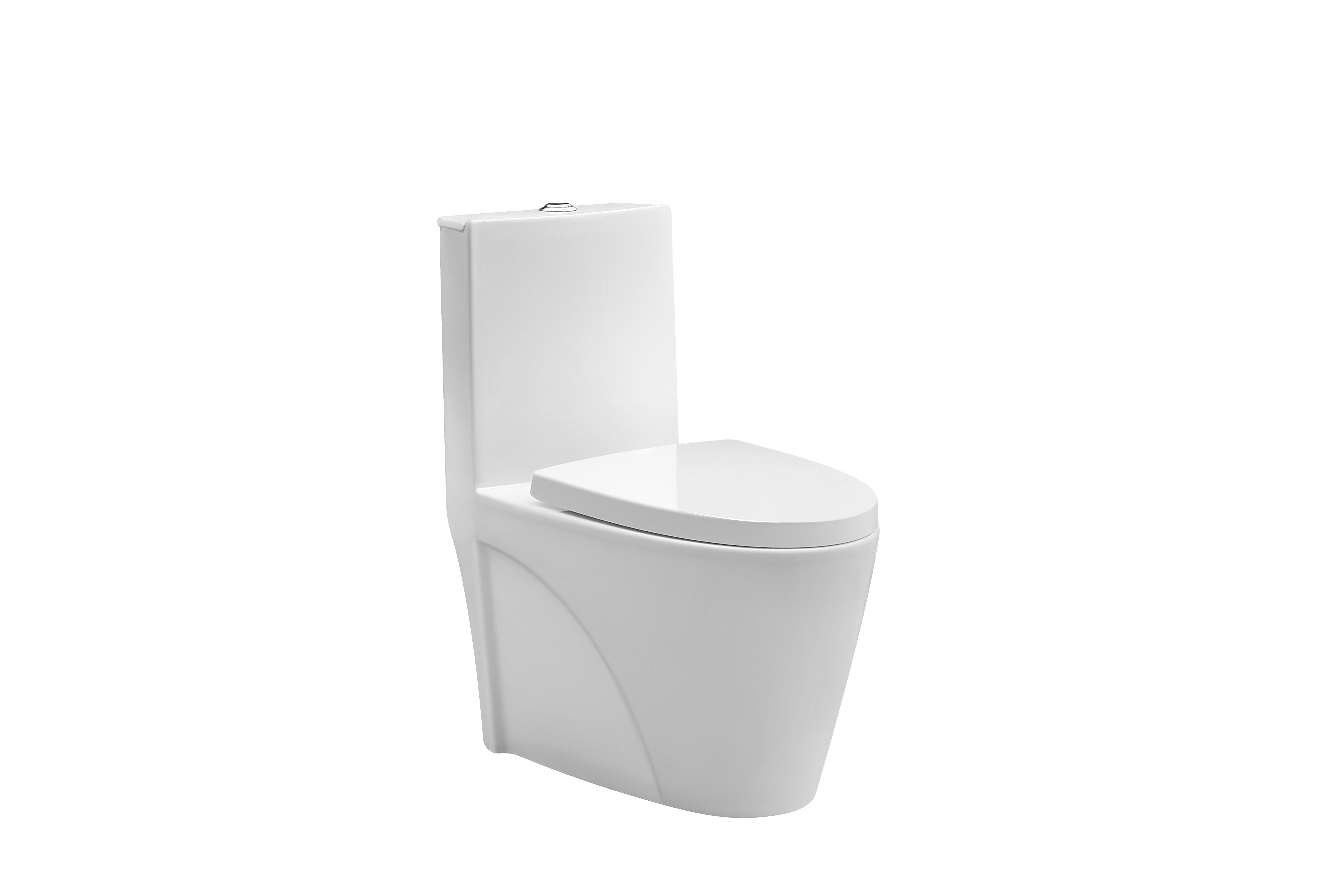 Sanitary ware one-piece bathroom floor mounted ceramic wc washdown toilet
