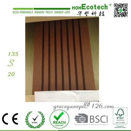 Solar irradiation resistant anti-UV eco recycle wpc decking