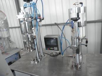 aerosol air fresher filling machine