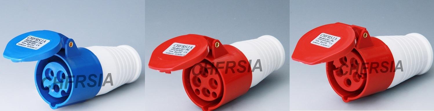 Economic industrial connector 3P 4P 5P IP44