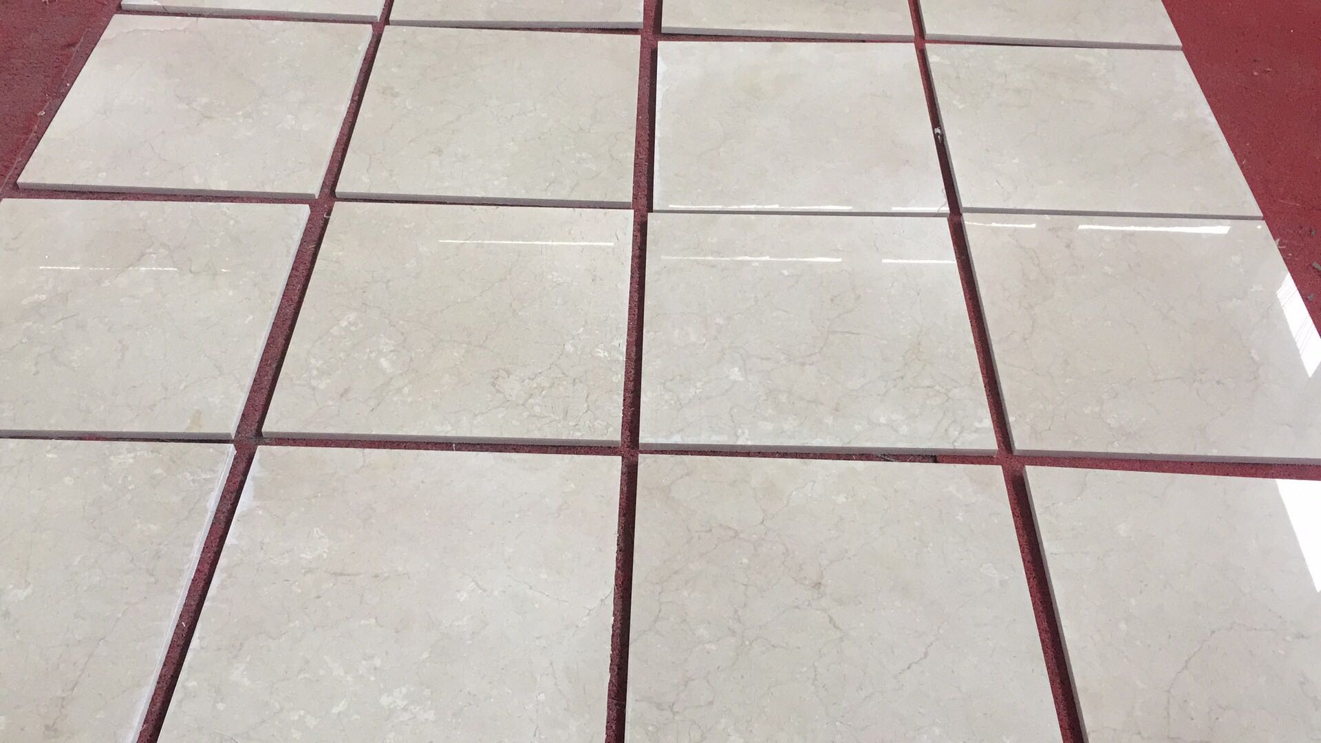 China Manufacture Natural Stone Cream Marfil Marble Tiles