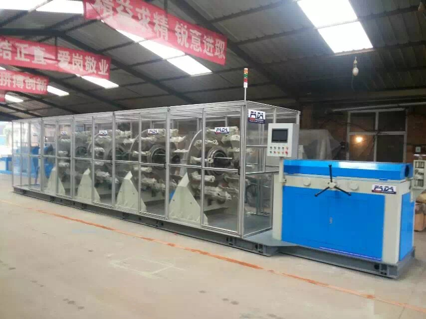 cnc high speed wire spirallizer for rubber hose production
