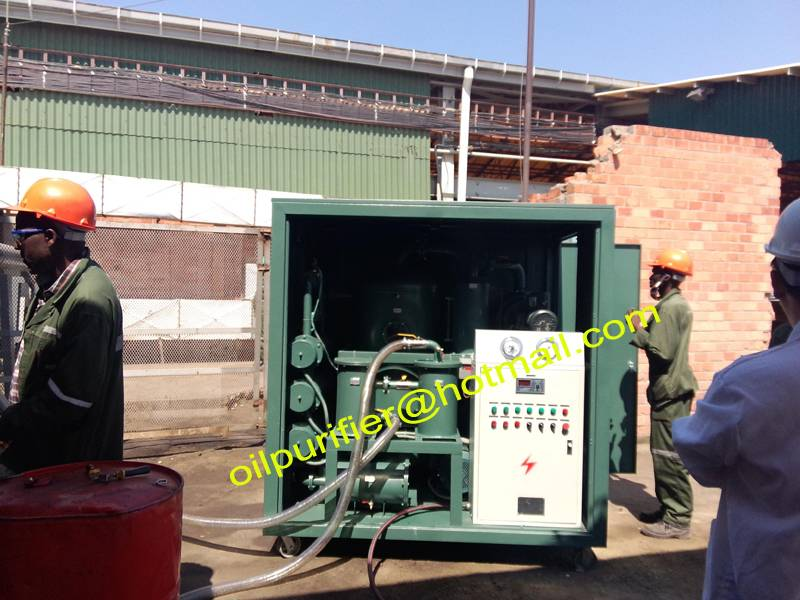 New technology transformer oil purifier filter units, oil purification equipo in Zambia