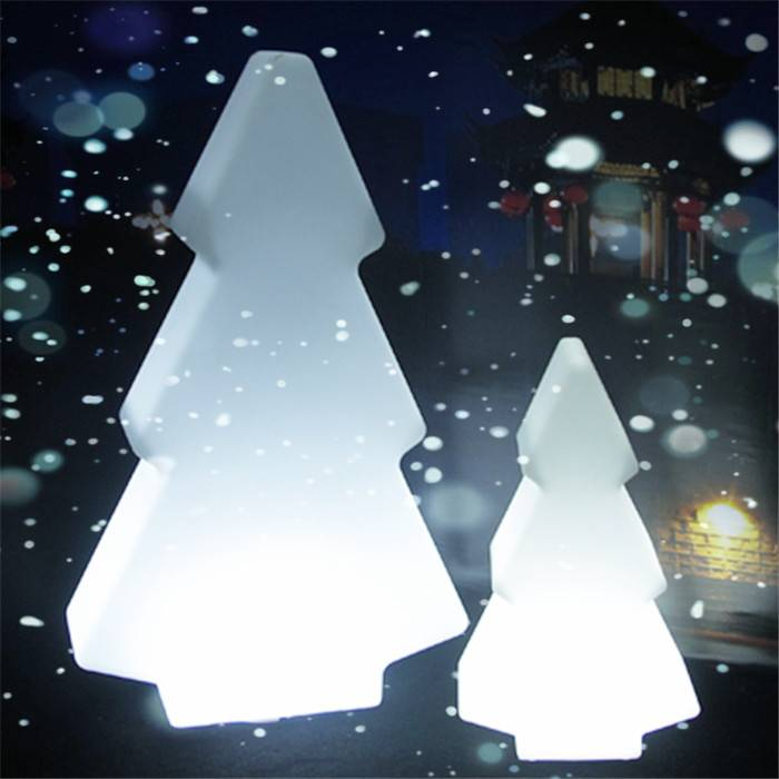 illuminated led christmas tree
