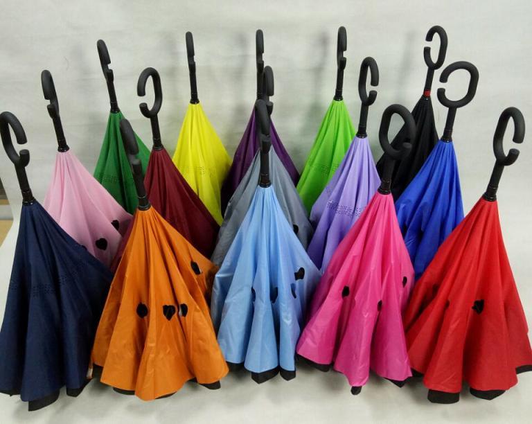 24inch double reverse umbrella