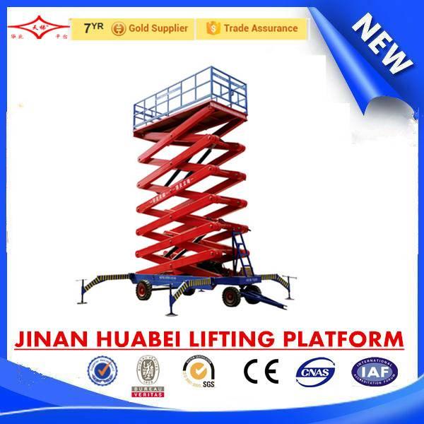 SJPT03-16 four wheel mobile elevating platform