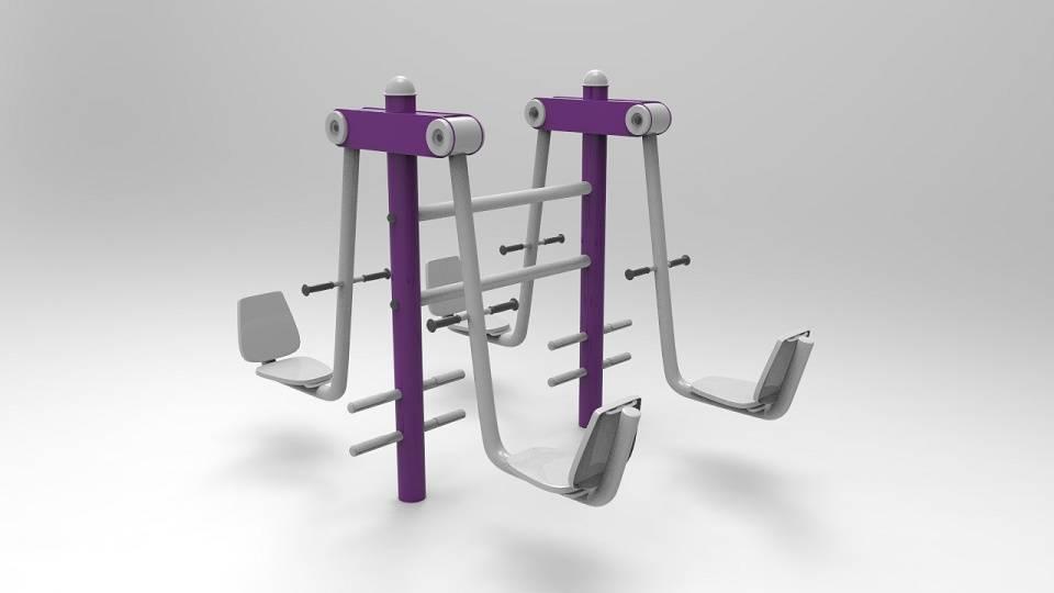 4-person leg press