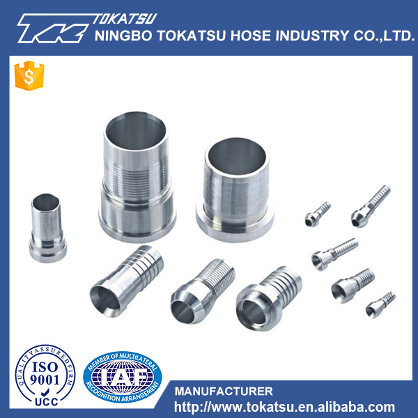 Stainless Steel Swivel Pipe Fitting Stainless Steel Hydraulic Hose Nipple Connector