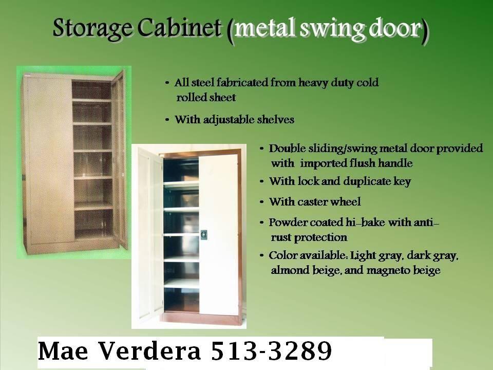 Storage Cabinet swing door we accept made to order