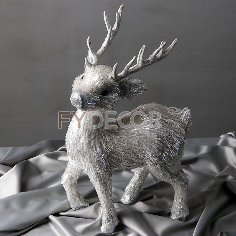 Christmas Deer Handmade Craft Reindeer Decaration