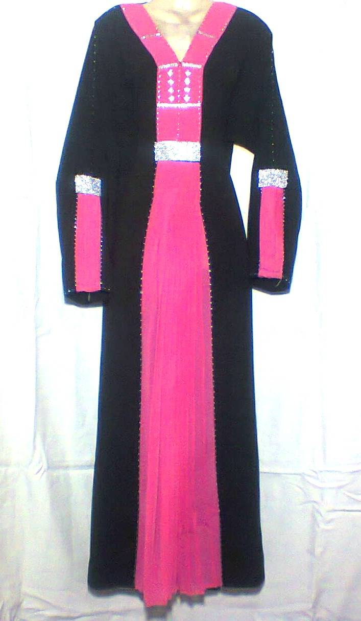 DUBAI VERY FANCY abaya jalabiya Ladies Maxi Dress A3