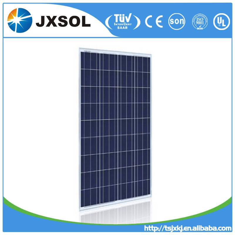 100W poly solar panel with high quality made in China Tangshan