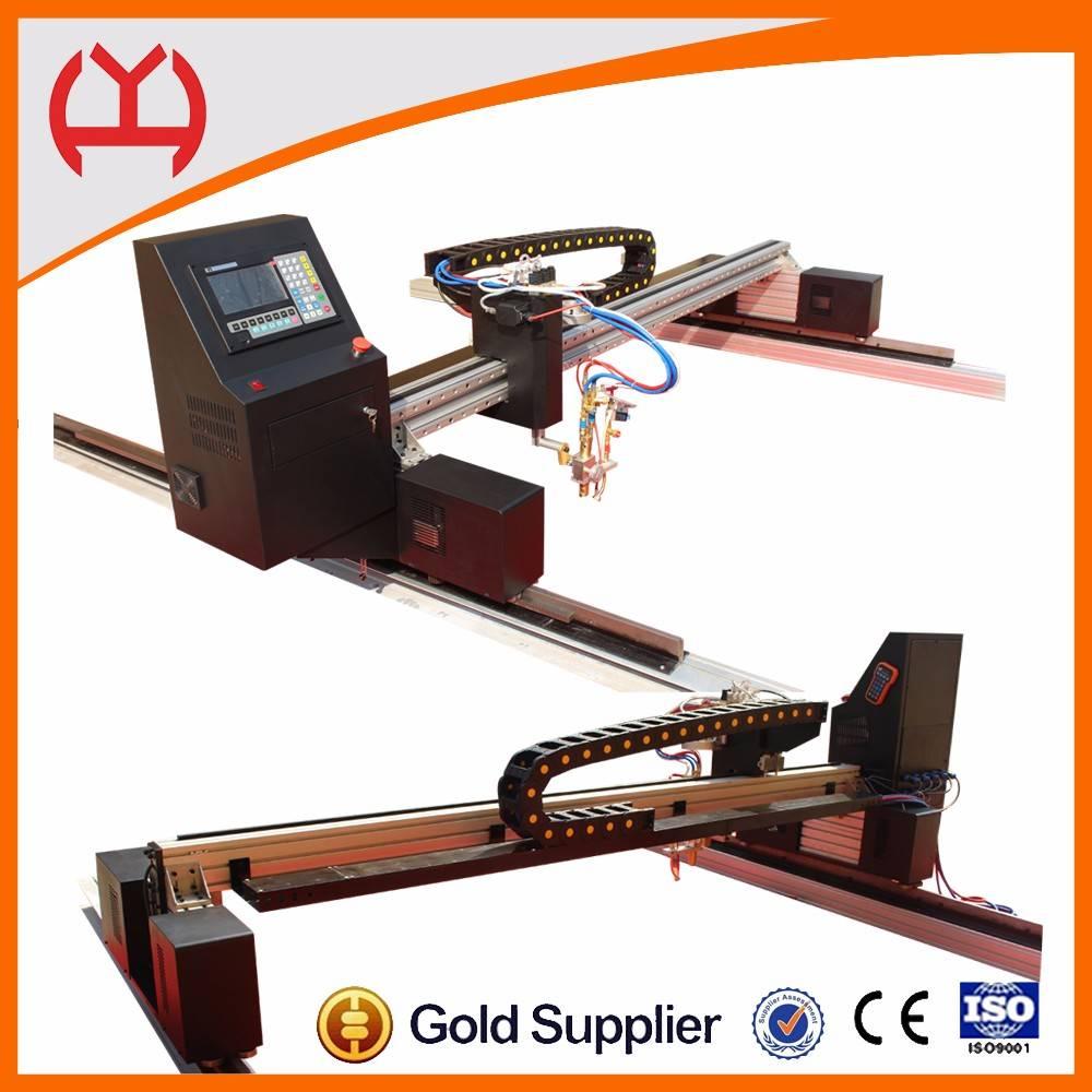 Gantry metal cnc cutting machine