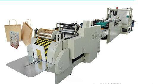 LFD-350 Roll Feeding Square Bottom Paper Bag Making Machine