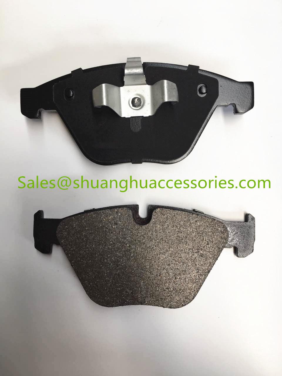 GDB1729 brake pads for BMW auto car,ceramic brake lining