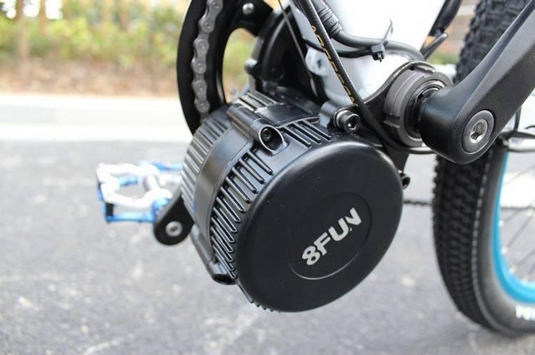 Pro-Grenergy 48V 750W mid-drive ebike motor
