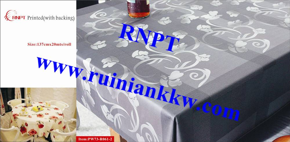 Iran hot sales RNPT PW73-R061-2 3D Printed Table Cloth with backing for Israel, Iran, Turkey and Sou