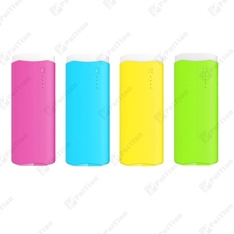 PT-113 10000mAh Colorful Dual Output Power Bank