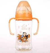 300ml PPSU wide-neck feeding bottle (lucky style)