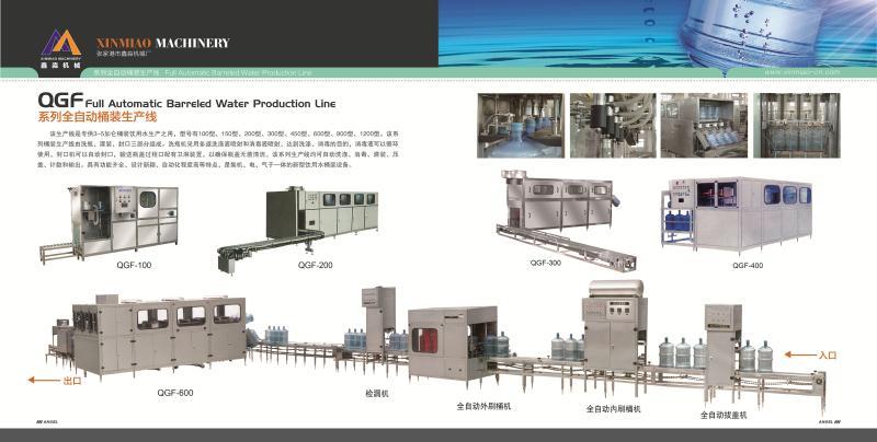 1 gallon,3 gallon,5 gallon bottle drinking water production line
