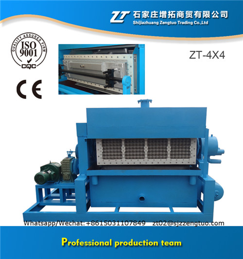 Automatic Paper Molding Production Line Produce Egg Tray