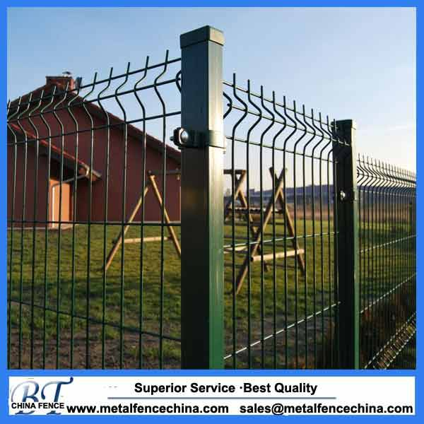 China supplier hot sale Hot dip wire mesh fence / 3d wire fence / welded wire mesh fence