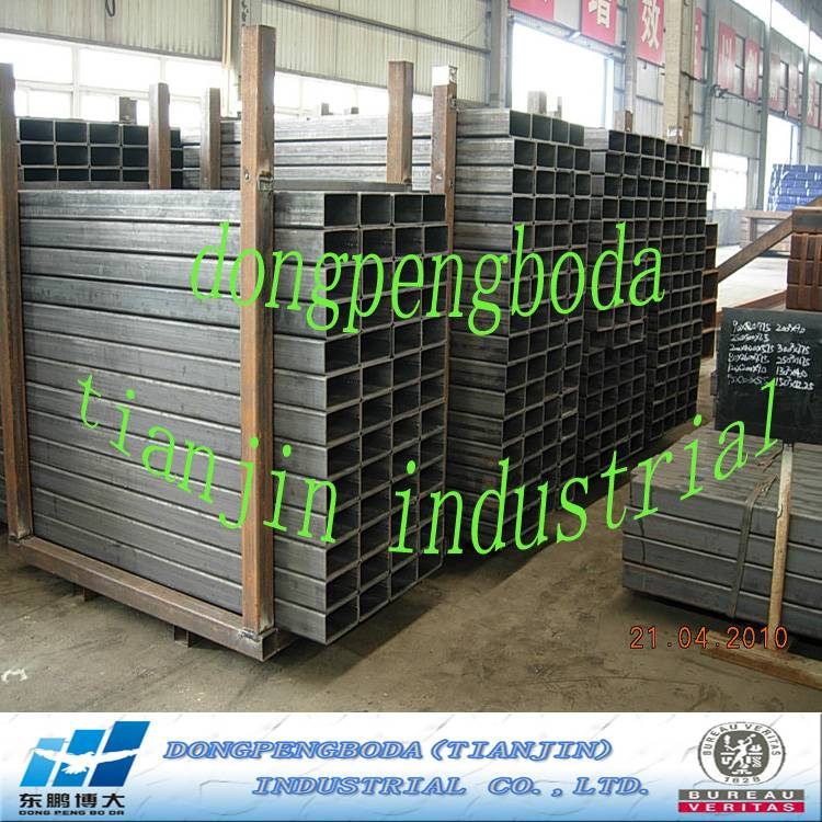 manufacturing construction used JIS SS400 rectangular carbon steel pipe