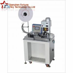 Semi-Automatic Flat Ribbon Cable Terminal Crimping Machine