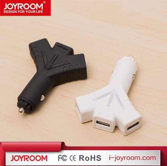 JOYROOM hot sell dual usb 5V 5.1A quick hybrid car charger