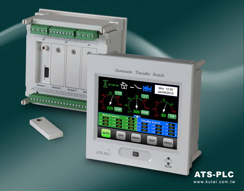 ATS-PLC  Touch Screen Programmable ATS Controller