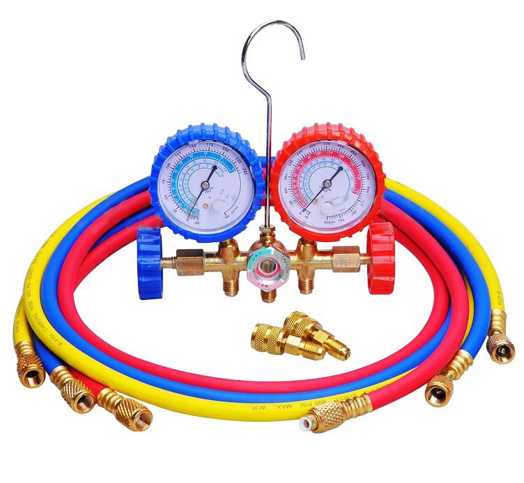 Refrigeration Parts Brass Manifold gauge set for R410a TOP Quality