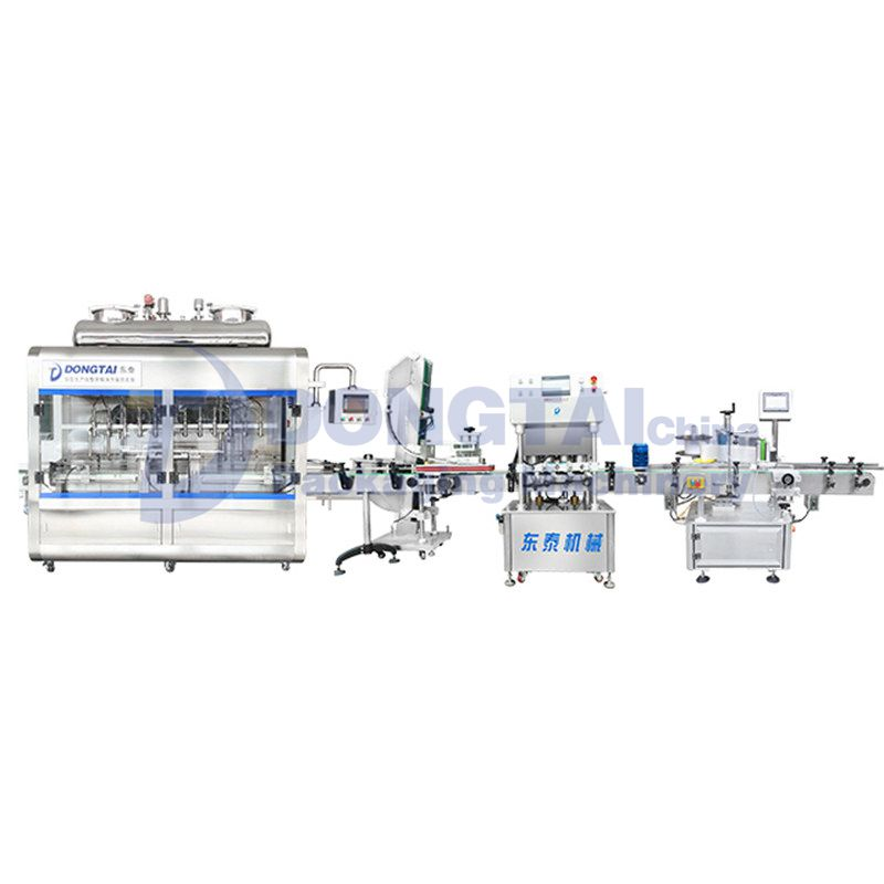 Sauce Filling Machines And Production Line For Chili Sauce /Tomato Sauce/Bbq Sauce Bottled Filling M