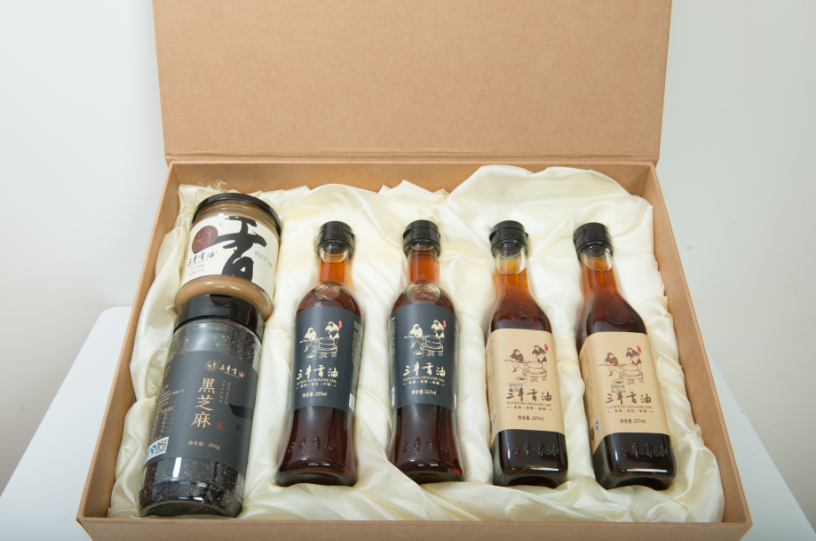 Sesame oil product gift sets