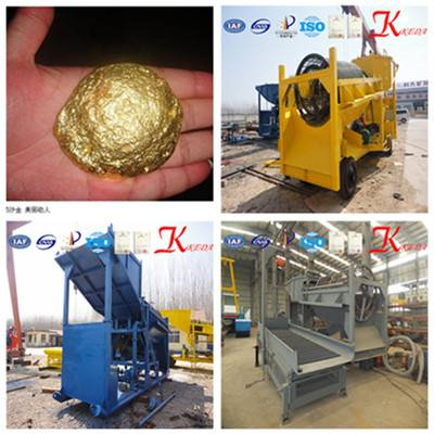 China Gold Ore Wash Plant for Gold Ore Mining
