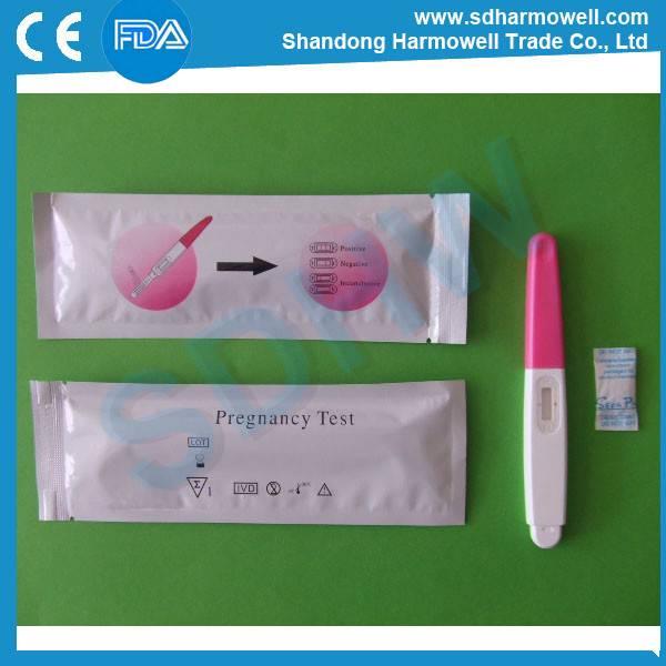 Easy disposable HCG Pregnancy test midstream