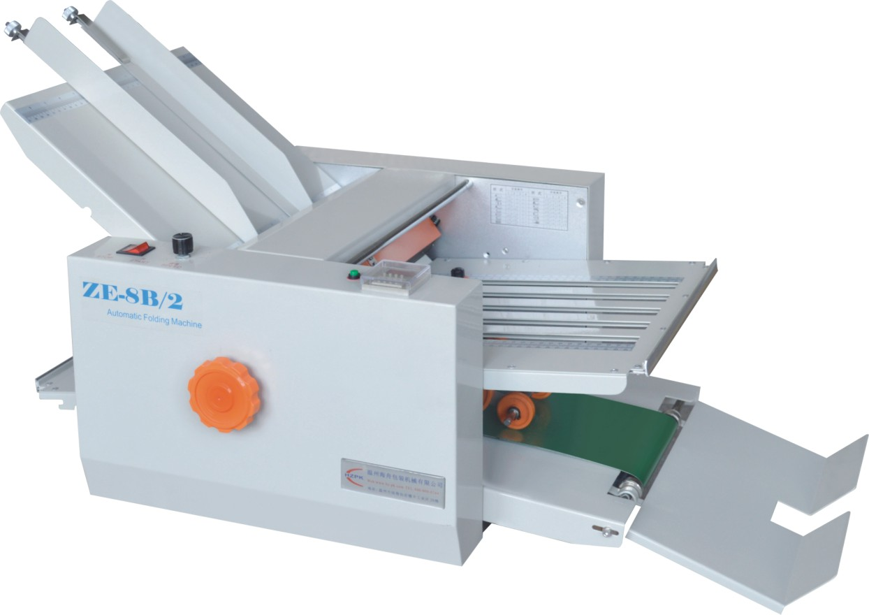 Automatic Folding Machine Paper/Auto Folder Ze-8b/2