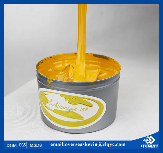 China manufacturer directly supply sublimation offset printing ink