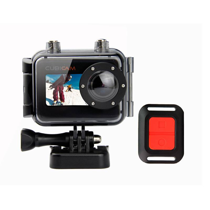 Waterproof Sports Camera with 167-foot Waterproof Protecting Case, 5 Megapixels wide angle lens